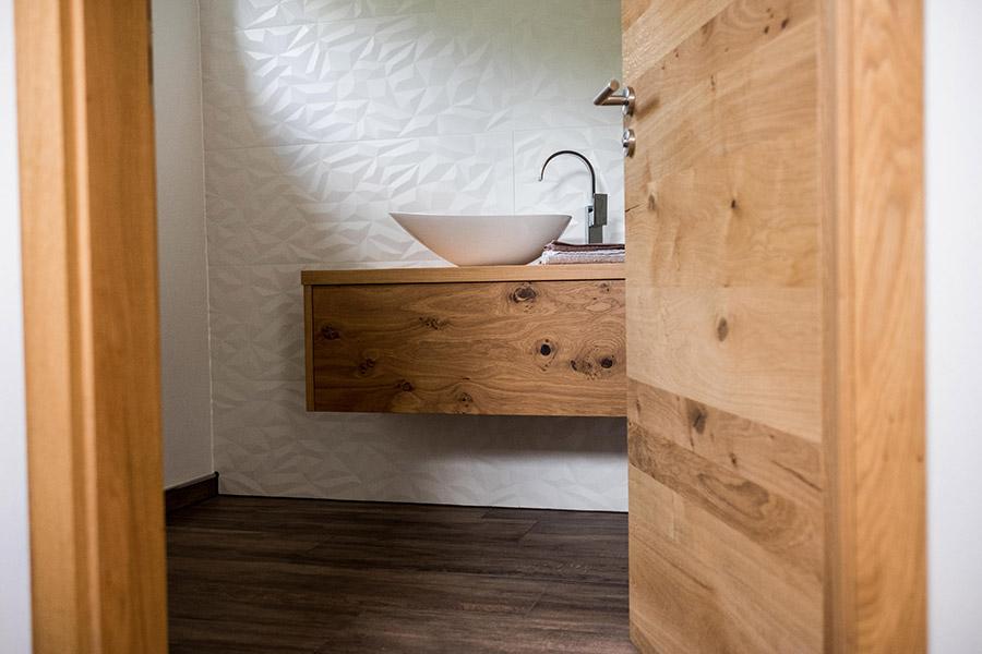 Badezimmer im Einfamilienhaus