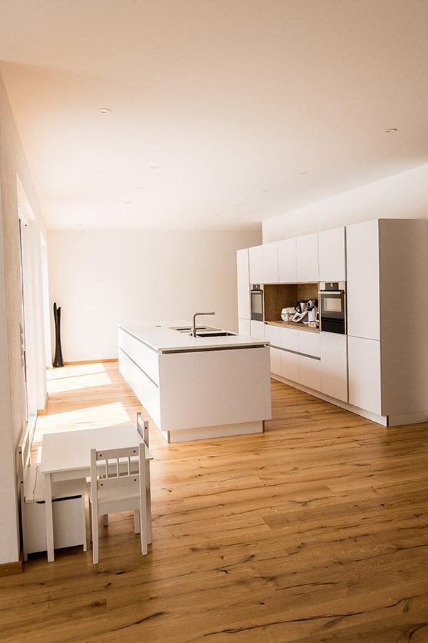 Moderne Küche im Neubau
