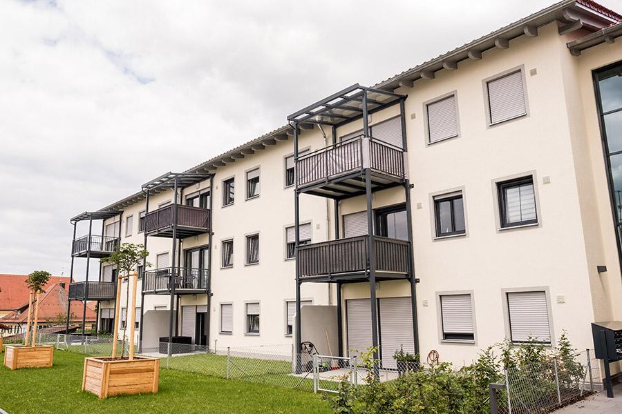 Meindl Bau GmbH Mehrfamilienhaus